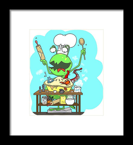 Peter And The Closet Monster, Baker - Framed Print