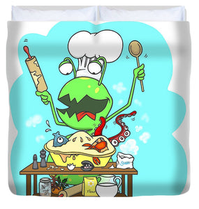 Peter And The Closet Monster, Baker - Duvet Cover