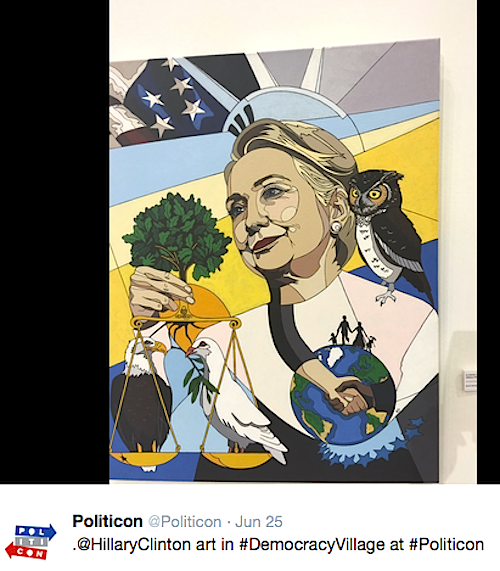 "Print of ""In Honor of Hillary Clinton"" Print"