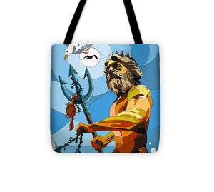 Poseidon - W/hidden Pictures - Tote Bag
