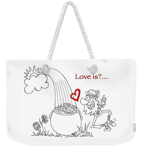 Pot Of Gold Valentines  - Weekender Tote Bag