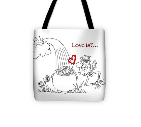 Pot Of Gold Valentines  - Tote Bag