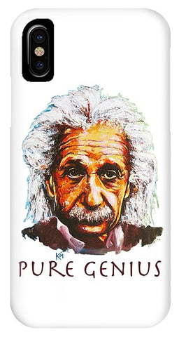 Pure Genius - Einstein - Phone Case