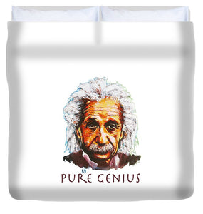 Pure Genius - Einstein - Duvet Cover