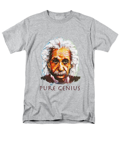 Pure Genius - Einstein - Men's T-Shirt  (Regular Fit)