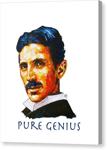 Pure Genius - Tesla - Canvas Print