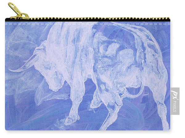 Purple Bull Negative - Carry-All Pouch