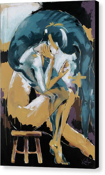 Self Reflection - Of A Dancer - Canvas Print