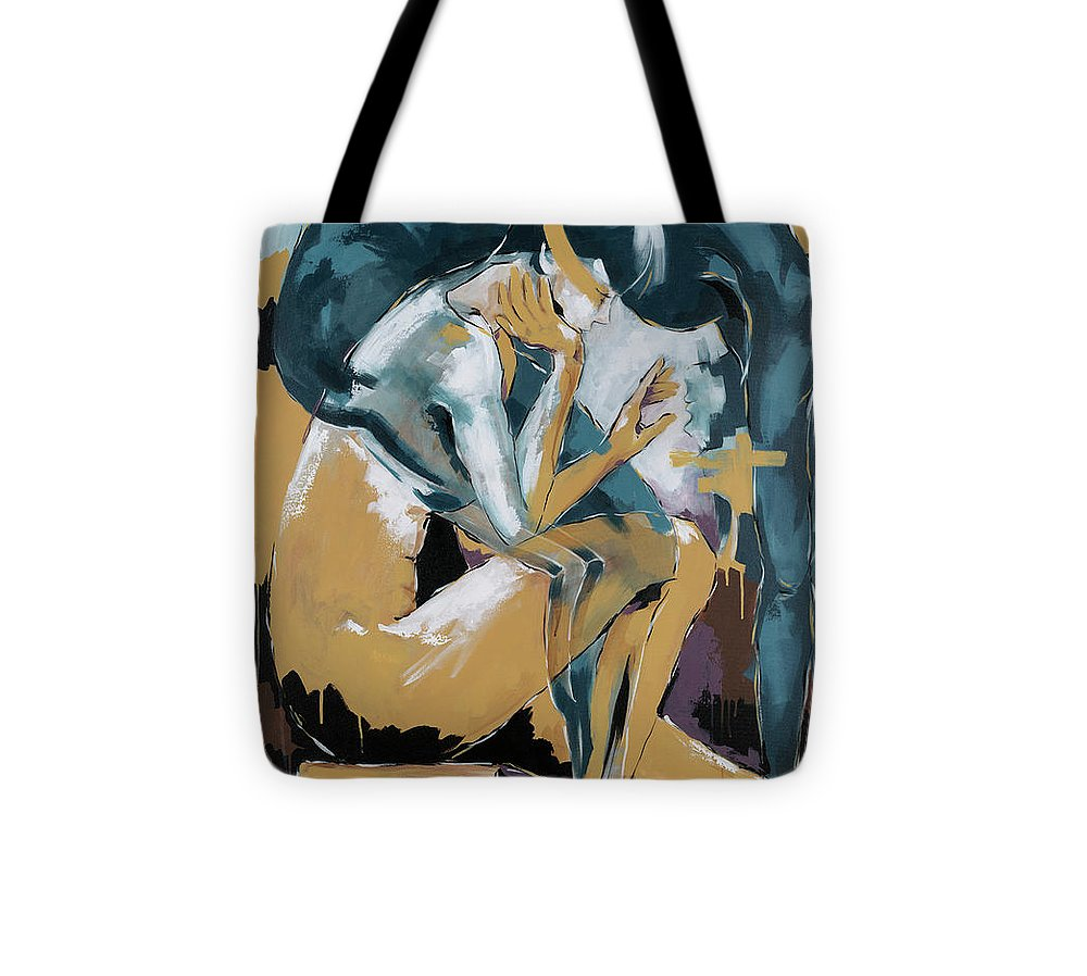 Self Reflection - Of A Dancer - Tote Bag