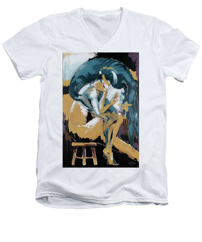Self Reflection - Of A Dancer - Men's V-Neck T-Shirt