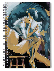 Self Reflection - Of A Dancer - Spiral Notebook