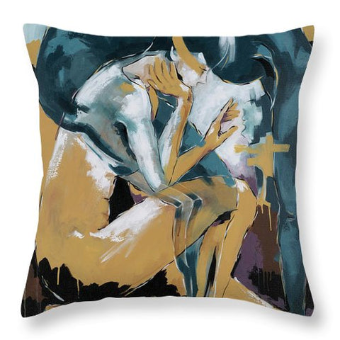Self Reflection - Of A Dancer - Throw Pillow