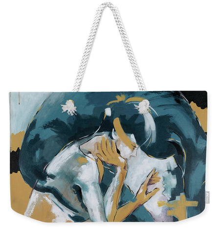 Self Reflection - Of A Dancer - Weekender Tote Bag
