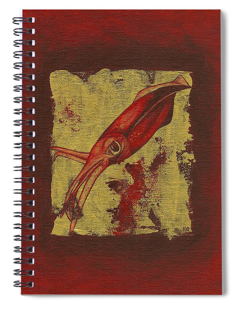 Squid - Spiral Notebook