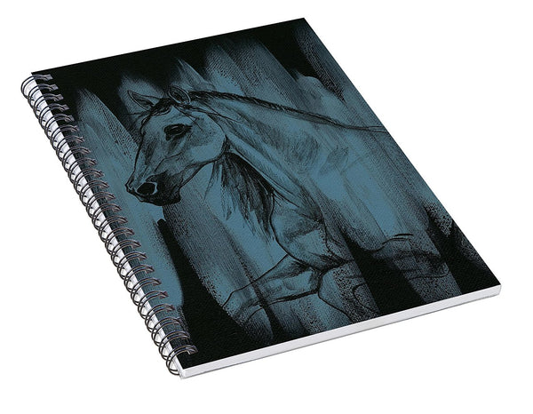Stallion - Spiral Notebook