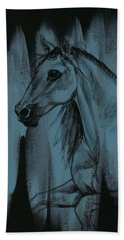 Stallion - Beach Towel