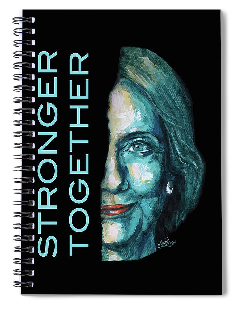 Stronger Together - Spiral Notebook