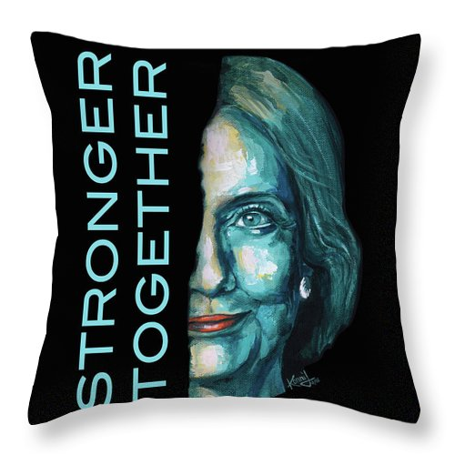 Stronger Together - Throw Pillow
