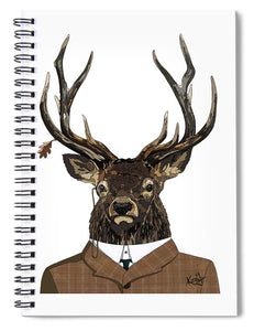 Suited  - Spiral Notebook