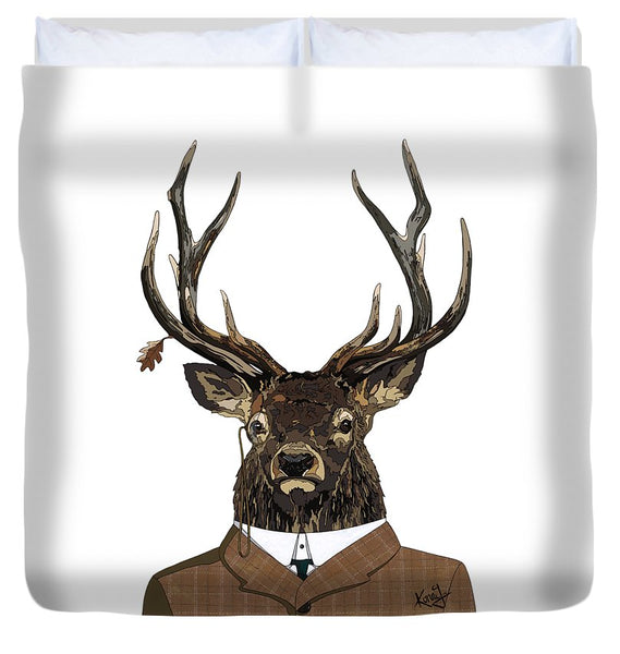 Suited  - Duvet Cover