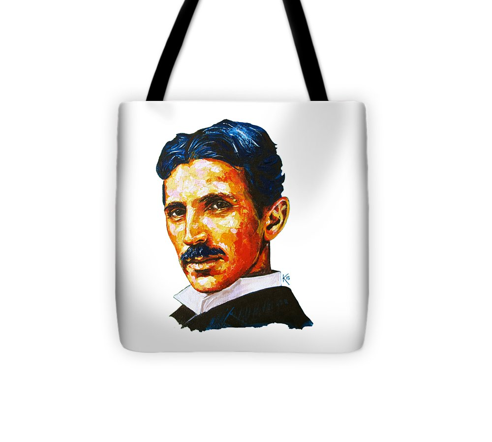 Tesla - Pure Genius - Tote Bag