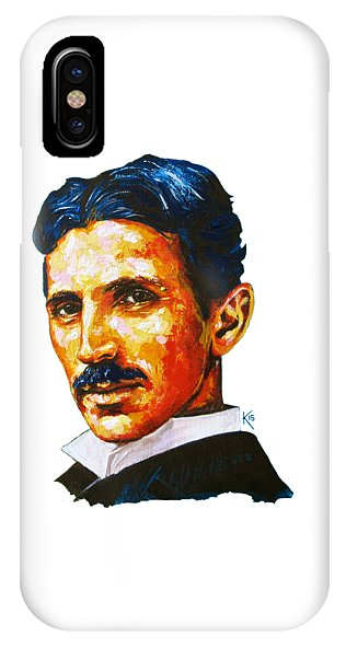 Tesla - Pure Genius - Phone Case