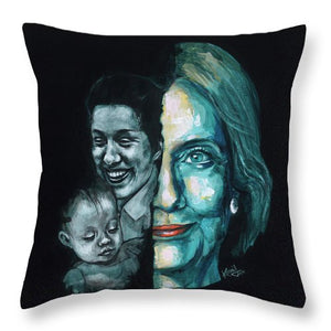 Thanks To Dorothy And Charlotte - Throw Pillow