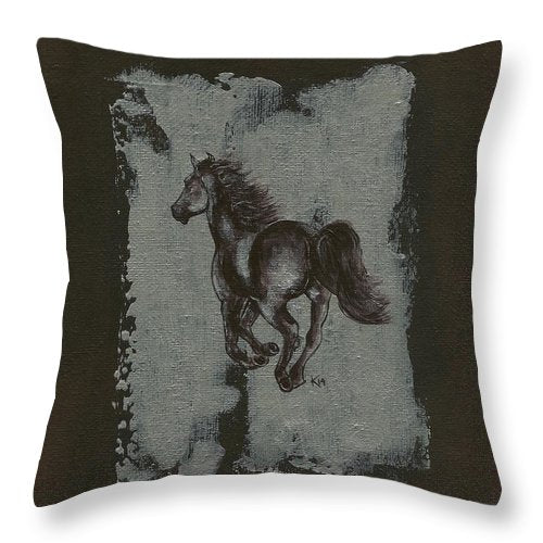 The Chase - Throw Pillow
