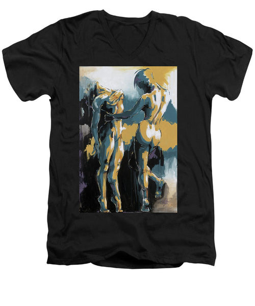 The Dance - Men's V-Neck T-Shirt