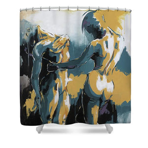 The Dance - Shower Curtain