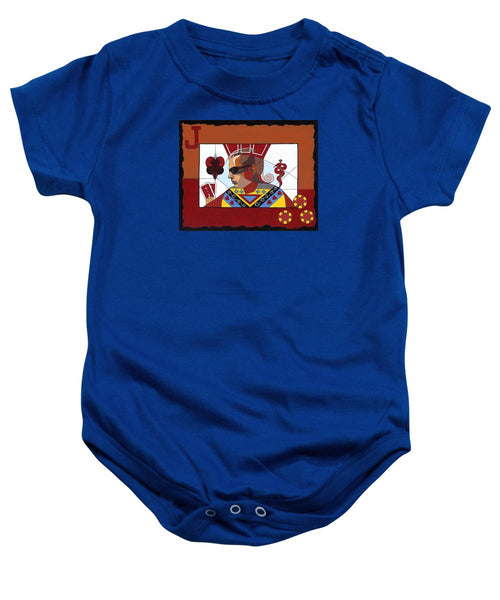 The Oracle Poker Player - Baby Onesie