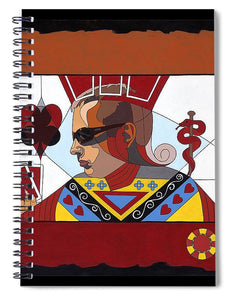 The Oracle Poker Player - Spiral Notebook