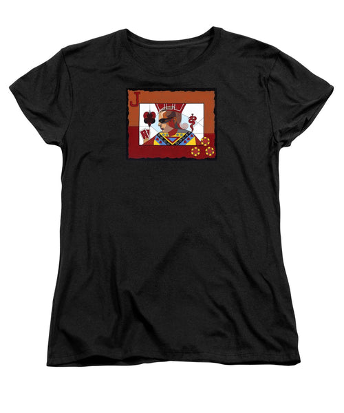 The Oracle Poker Player - Women's T-Shirt (Standard Fit)