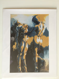 "Print of ""The Dance"" Painting"