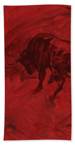 Toro Painting - Bath Towel