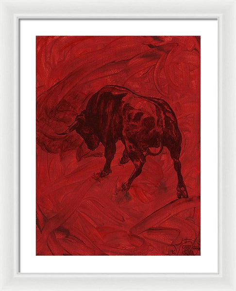 Toro Painting - Framed Print