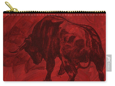 Toro Painting - Carry-All Pouch