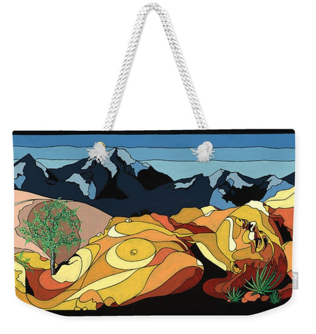 Tree Of Life Painting W/ Hidden Picture - Weekender Tote Bag