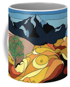 Tree Of Life Painting W/ Hidden Picture - Mug