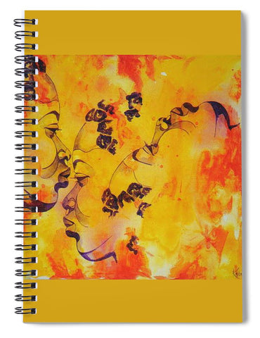 Tribal - Spiral Notebook