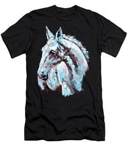 White Horse - Men's T-Shirt (Athletic Fit)