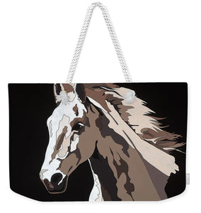 Wild Horse With Hidden Pictures - Weekender Tote Bag