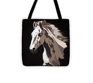 Wild Horse With Hidden Pictures - Tote Bag