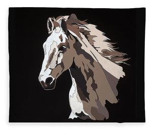 Wild Horse With Hidden Pictures - Blanket