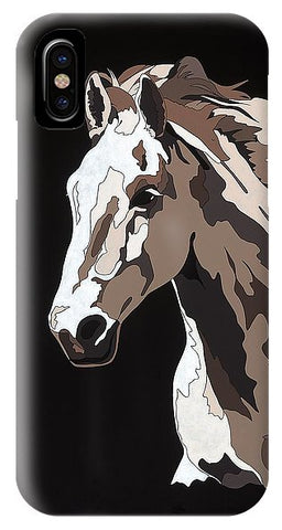 Wild Horse With Hidden Pictures - Phone Case