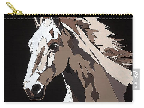 Wild Horse With Hidden Pictures - Carry-All Pouch