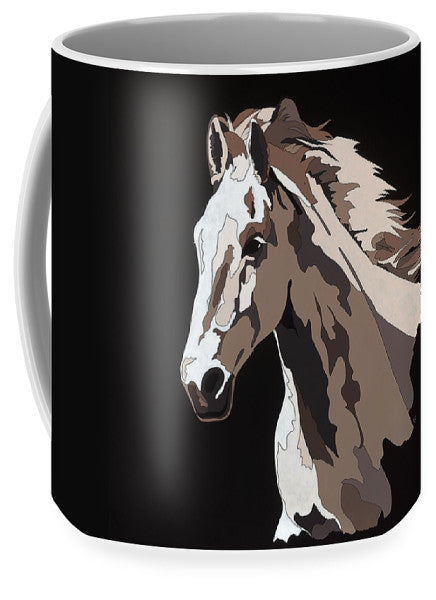 Wild Horse With Hidden Pictures - Mug