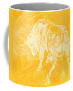 Yellow Bull Negative - Mug