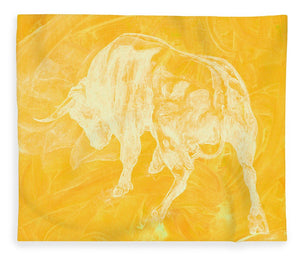 Yellow Bull Negative - Blanket