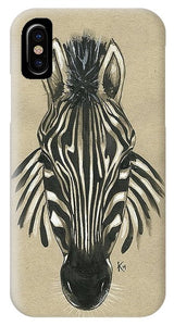 Zebra Front - Phone Case